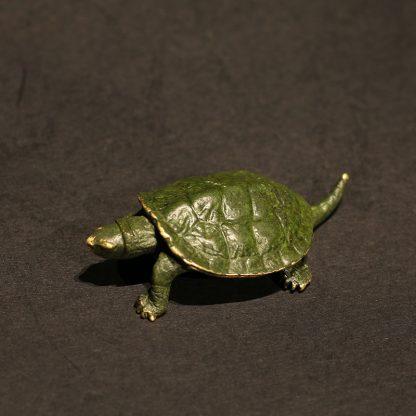 brass turtle