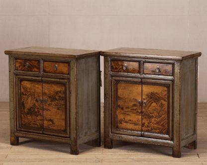 2 door and 2 drawer table