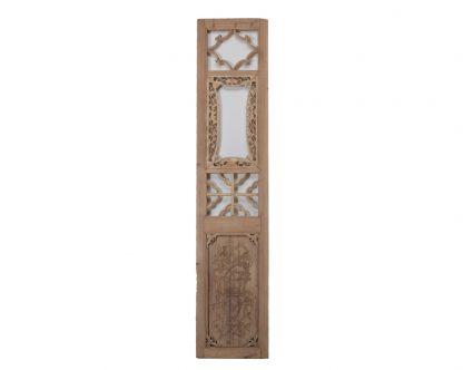 Old wooden colour door panels