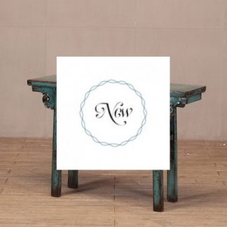 Teal Blue 2 Drawer console Table