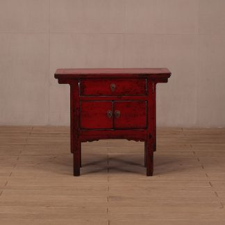 one drawer console table